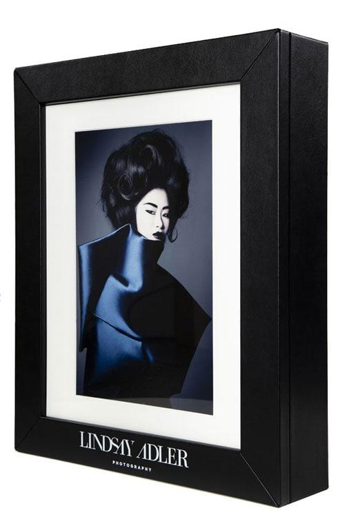 Lindsay Adler branded print box